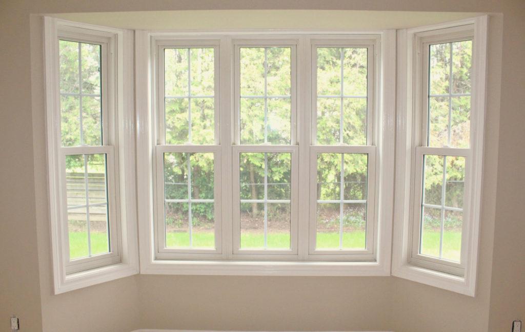 window trim painting