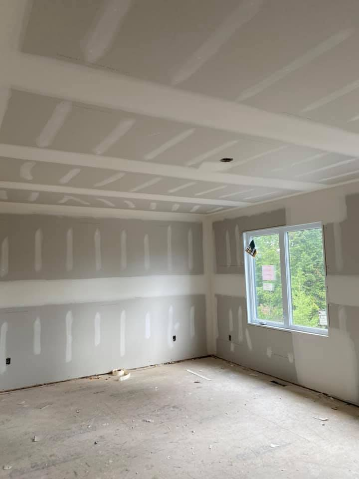 full interior renovation - drywall complete