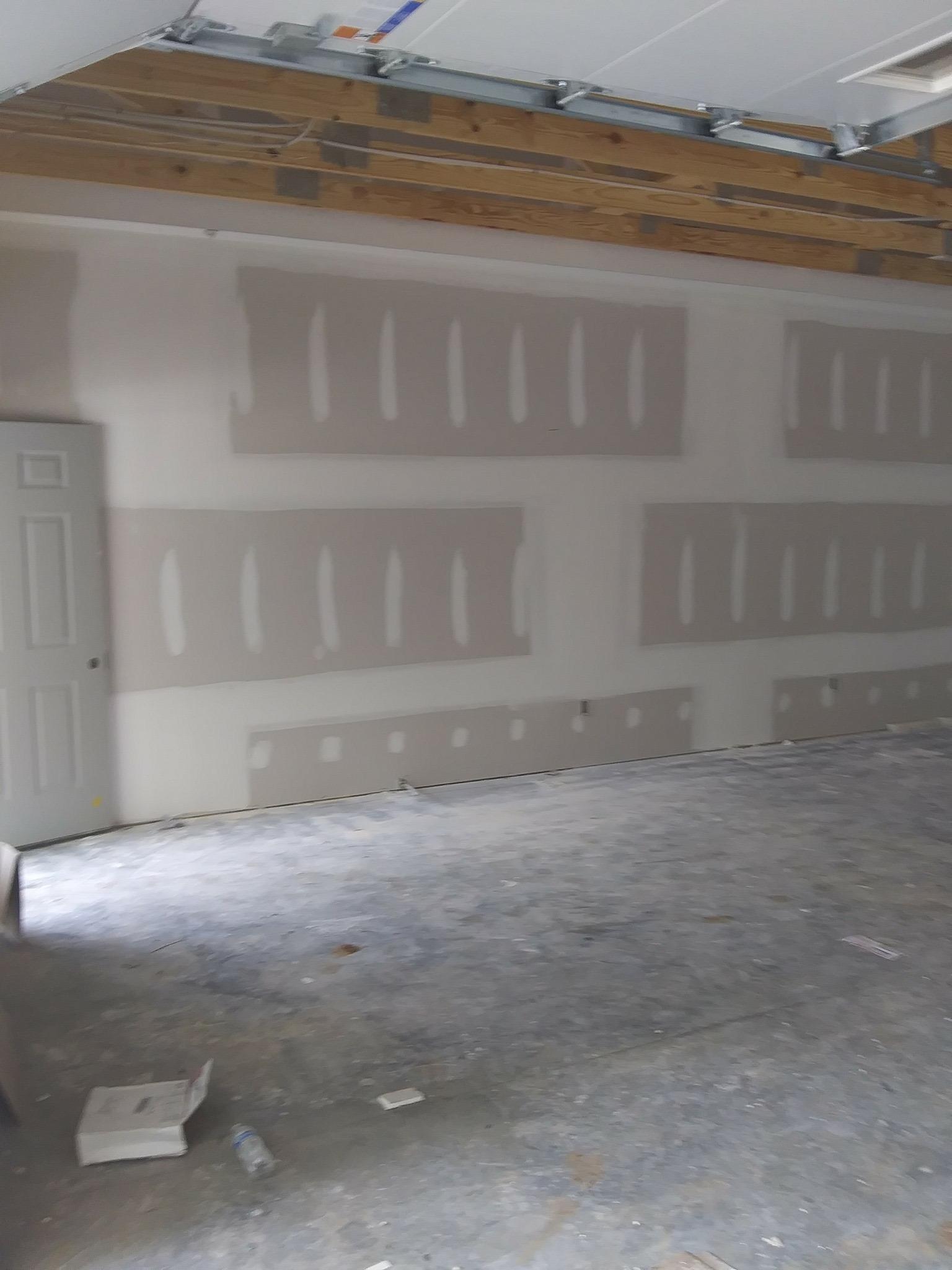 full interior renovation - drywall